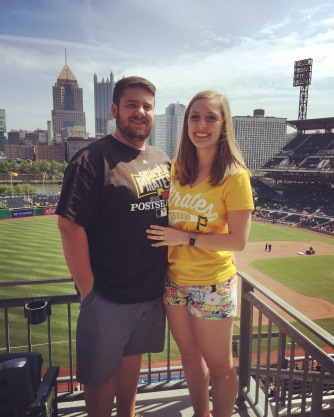 Pirates game with Steve
